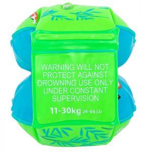 Phao bơi gắn tay cho bé từ 11-30kg(2 màu xanh lá/hồng)