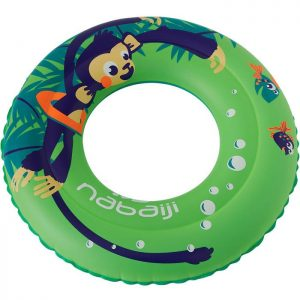 Children's Inflatable Swim Ring For Age 3-6Y (Green)