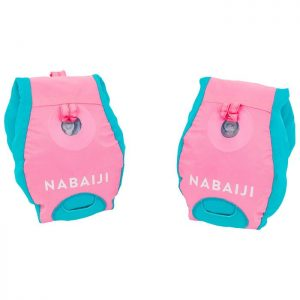 Phao tập bơi đeo tay-lưng cho bé (2 màu xanh lá/hồng)